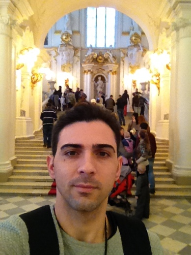 Got lost at Hermitage Museum!