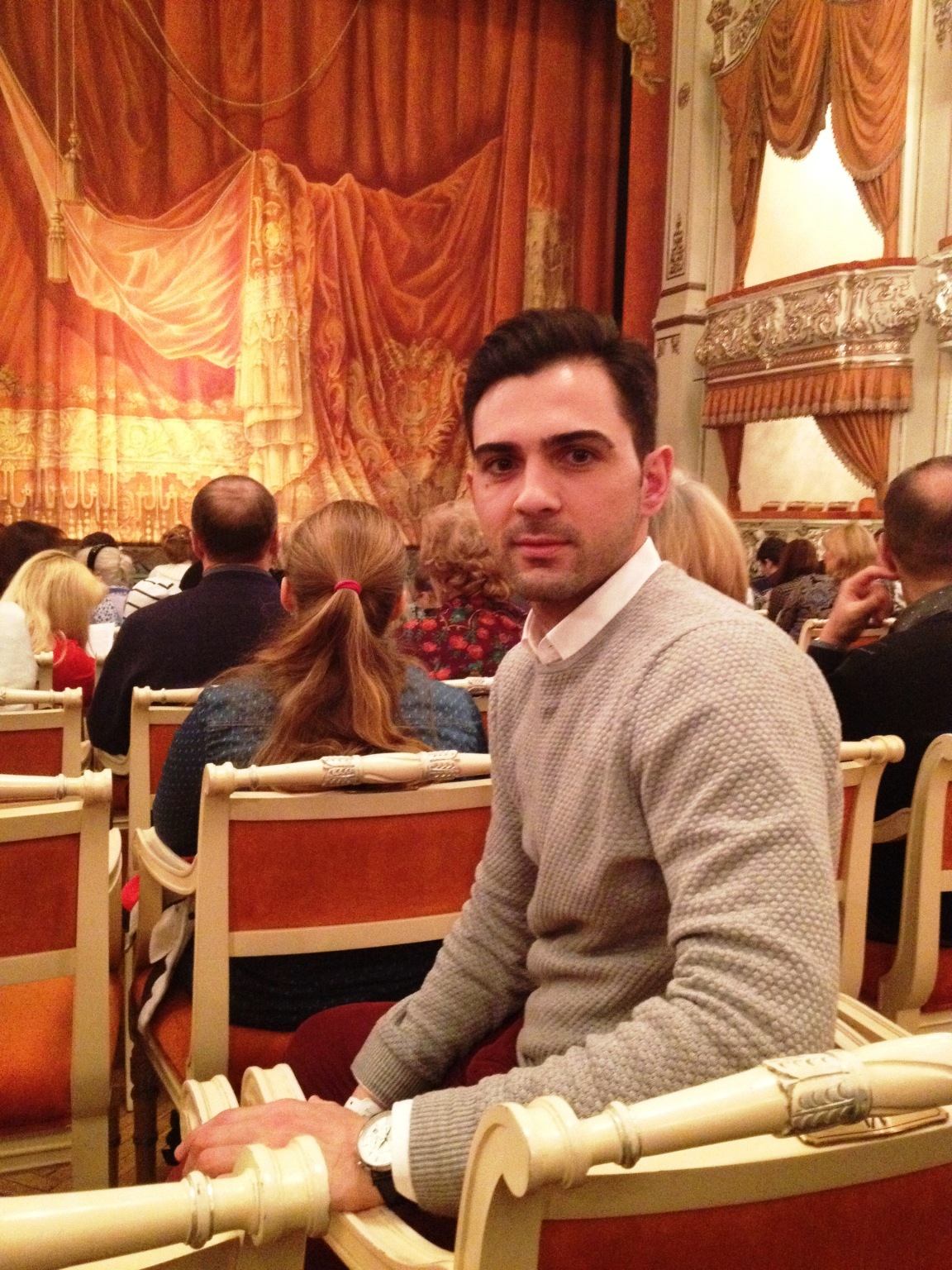 Amazing experience at Mikhailovsky Theater