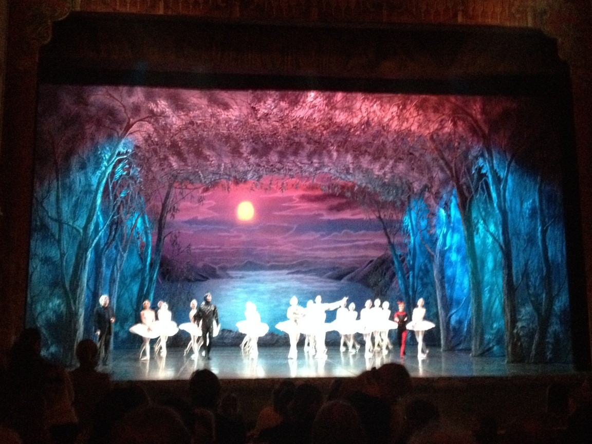Swan Lake at Mikhailovsky Theater