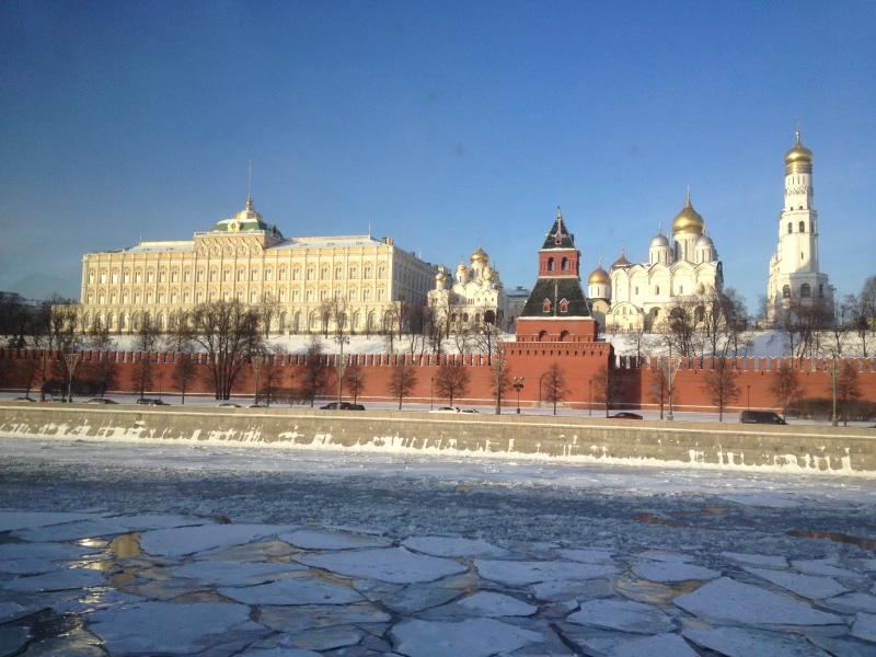 The Kremlin. Greetings Mr President!