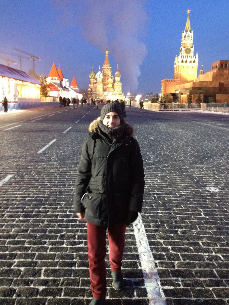 Walking through the Red Square