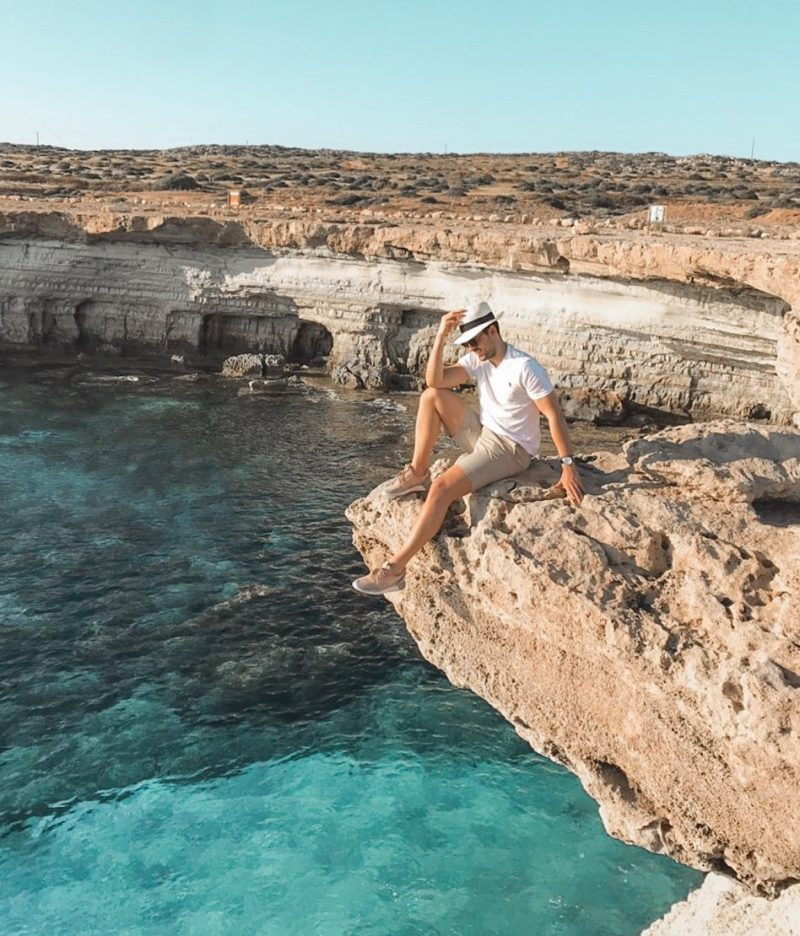 Sea Caves in Ayia Napa is living proof that nature is the best sculptor